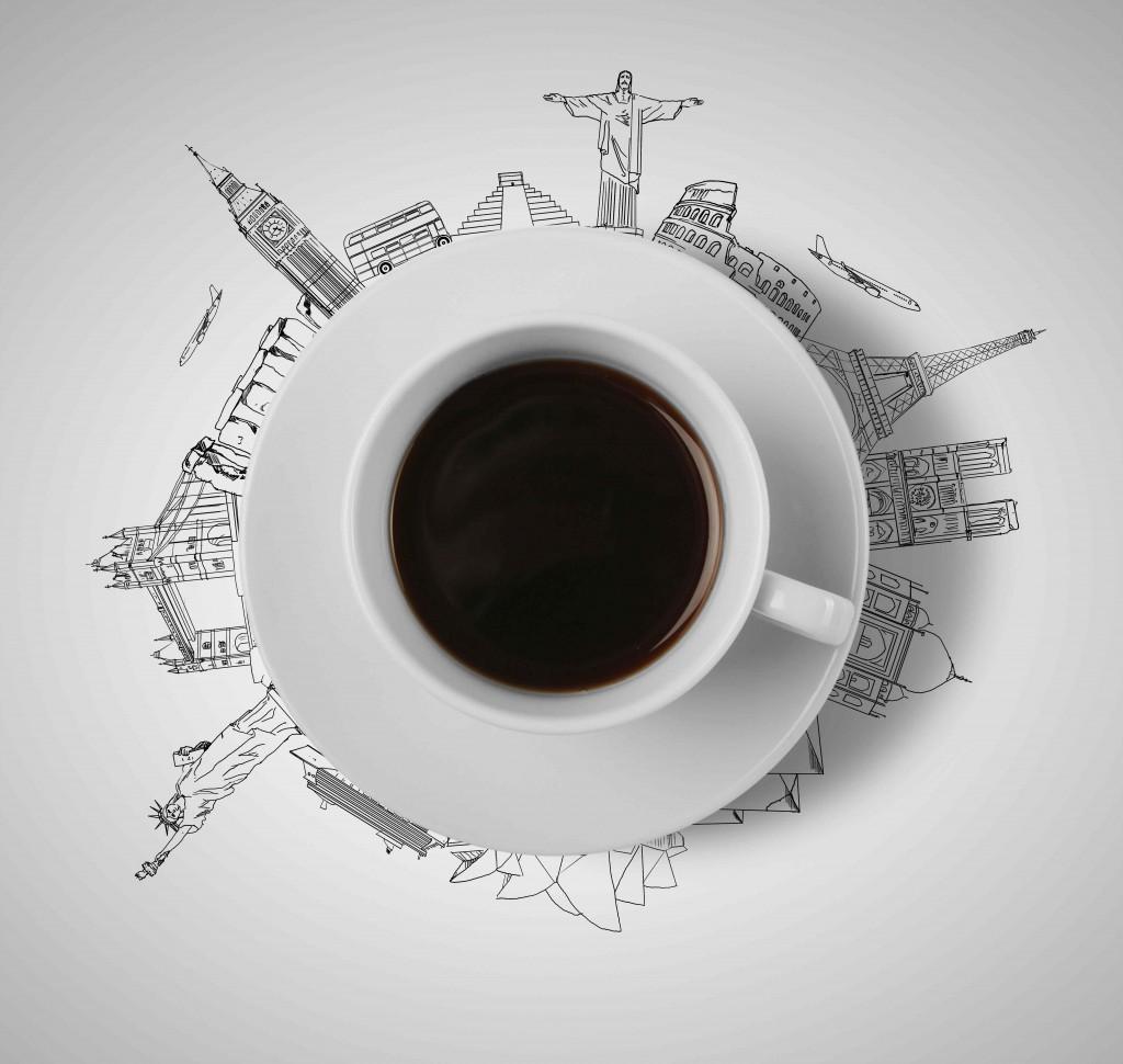 coffee-travel-drawings-round-dish