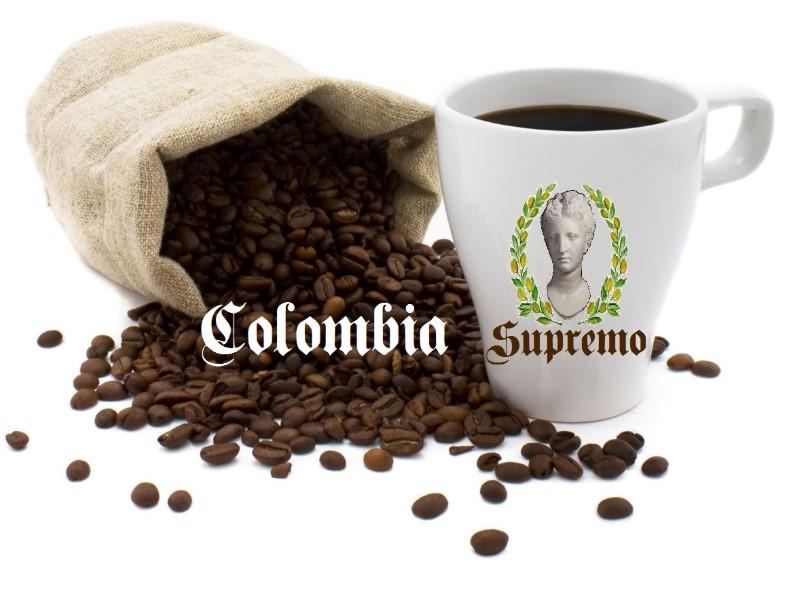 Clombian supremo roasted coffee